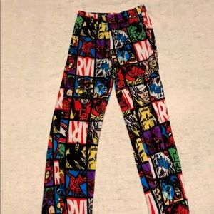 Marvel comics pajama pants
